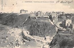 GRANVILLE - Vieille Route De Coutances Et Falaises - Granville