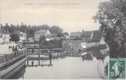 58 - CLAMECY : La Pesserelle Du Beuvron Et Le Bief Du Beuvron- CPA Village (3.870 Habitants ) - Nièvre - Clamecy