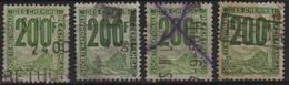 FR/CP 27 - FRANCE Lot De 4 Colis Postaux N° 24 Obl. - Oblitérés