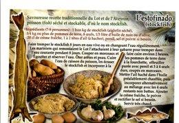 RECETTE DE L'ESTOFINADO - Küchenrezepte