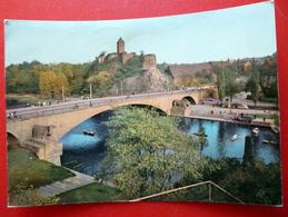 Halle - Saale - Burg Giebichenstein - Brücke - DDR 1966 - Sachsen-Anhalt - Ponti