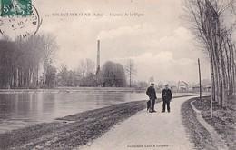 NOGENT SUR SEINE         CHEMIN DE LA DIGUE - Nogent-sur-Seine