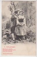 27464 Série Idylle Passagère -chasseur Amoureux Femme Fusil -gentille Amoureux  N° 6 Bergeret - Couples