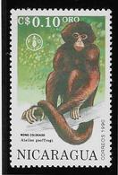 Thème Animaux - Singes - Gorilles - Lémuriens - Nicaragua - Neuf ** Sans Charnière - TB - Monkeys