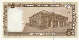 Bangladesh P.53s 5  Taka 2014 Unc - Bangladesh