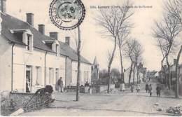 18 - LUNERY : Route De Saint Florent - CPA Village (1.510 H) Cher ( Berry ) - France