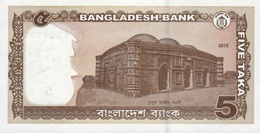 Bangladesh P.53b 5  Taka 2015 Unc - Bangladesh