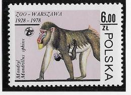 Thème Animaux - Singes - Gorilles - Lémuriens - Pologne - Neuf ** Sans Charnière - TB - Monkeys