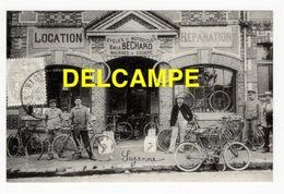DF / 28 EURE ET LOIR / LA LOUPE / CYCLES ET MOTOCYCLES EMILE BÉCHARD / VÉLOS ET MOTOS / ANIMÉE - La Loupe