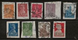 Russie 1923-1935 N° Y&T : 231,233 à 236,240 Obl. - 1923-1991 USSR