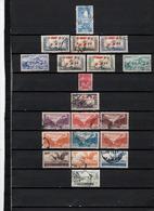 20 TIMBRES LIBAN OBLITERES  DE 1946 à 1955        Cote : 25 € - Liban