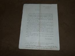 Document Emile Poncelet 1904 Publicité Pastilles Poncelet Boitsfort - Bélgica