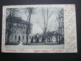 ROTENBURG  , Schöne Karte  Um 1905 - Rotenburg (Wuemme)