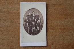 Cdv  Second Empire Photo Mosaique   De Pierre Petit Grands Personnages - Fotos