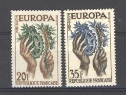 France  :  Yv  1122-23  **  Europa - Neufs