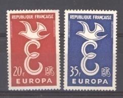 France  :  Yv 1173-74  **  Europa - Neufs