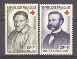 France  :  Yv  1187-88  ** - Neufs