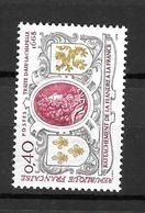 1968- Traité D'Aix La Chapelle/ YT 1563/ Neuf ** - Nuovi