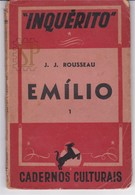 Portugal 1940 Jean Jaqques Rousseau Emílio Editorial Inquérito António Sérgio Cadernos Culturais Pedagogia Pedagogie - Livres, BD, Revues