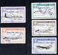Europa 1967. Guernsey - Sark.  Avions. - Europa-CEPT