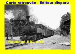 BVA 650-03 - Train MV - Loco 020+020 T N° 102 En Gare - PANDRIGNES - Corrèze - POC - Other Municipalities