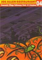 "Carte Postale ""Cart'Com"" (2004) - Joe Allen Restaurant - Halloween Party 31 Octobre - Illustration : Anguelidis - Illustrateurs & Photographes"