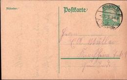 ! 1925 Ganzsache Deutsches Reich, Stadtilm, Thüringen, Nach Kirchheim Teck - Deutschland
