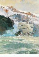 """L20k050 - Voilier """"le Pourquoi Pas?""""  En Islande Par Marin Marie - Musée De La Marine - Voiliers"""