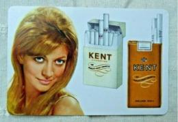 Calendrier De Poche Publicité Tabac 1971/ Cigarettes KENT - Calendriers