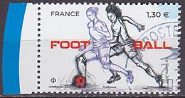 Timbre Oblitéré N° 5330(Yvert) France 2019 - Football - Frankrijk