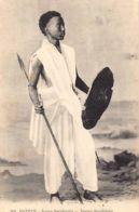 Sudan - Young Sudanese Warrior - Publ. Behar Et Fils300. - Soudan