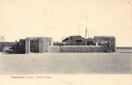 Sudan - OMDURMAN - Kalifa's House - Publ. F. Fiorillo14. - Soudan