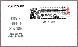 EDWIN HUBBLE - HUBBLE SPACE TELESCOPE. Houston TX 2000 - Astronomùia