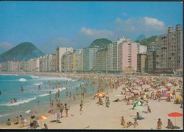 °°° 19972 - BRASIL - RIO DE JANEIRO - PRAIA DE COPACABANA - 1966 With Stamps °°° - Rio De Janeiro