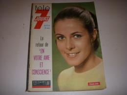 TELE 7 JOURS 465 03.1969 Claude JADE SHEILA Roger VAILLAND DUTRONC Frida BOCCARA - Televisión