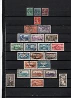 24 TIMBRES LIBAN OBLITERES  & NEUFS* + SANS GOMME DE 1924 à 1940      Cote : 40,95 € - Liban