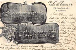 Freiburg Im Breisgau (BW) Die Spielleute Des 2. Bataillons - Freiburg I. Br.