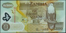 ZAMBIA - 500 Kwacha 2009 {Polymer} UNC P.43 G - Zambie