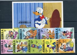 ANGUILLA     Pascua 1981  - 320 - Disney