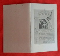 Calendrier De Poche 1941/Famille Royale - Calendriers