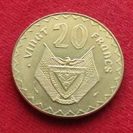 Rwanda 20 Franc 1977 Ruanda - Rwanda