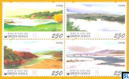 South Korea Stamps 2009, Rivers Of Korea Series 3, MNH - Korea, South
