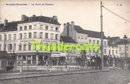 CPA  BRUXELLES MOLENBEEK LA PORTE DE FLANDRE - Molenbeek-St-Jean - St-Jans-Molenbeek