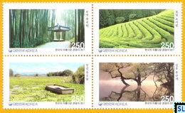 South Korea Stamps 2011, Fascinating Tourist Destinations Series 1, MNH - Korea, South