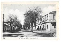 PERREGAUX (Algérie) Boulevard Pétain - Algeria