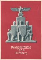 Deutsches Reich Propaganda Postkarte 1936 Reichsparteitag - Briefe U. Dokumente