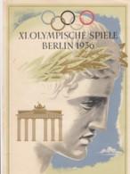 Deutsches Reich Propaganda Telegramm Olympiade 1936 - Briefe U. Dokumente