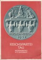 Deutsches Reich Propaganda Postkarte 1937 Reichsparteitag - Briefe U. Dokumente