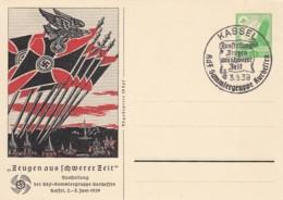 Deutsches Reich Propaganda Postkarte 1939 Fahnen - Briefe U. Dokumente