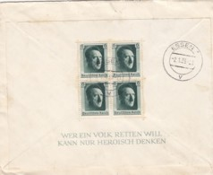 Deutsches Reich Propaganda Brief 1939 Block Nr. 7 - Briefe U. Dokumente